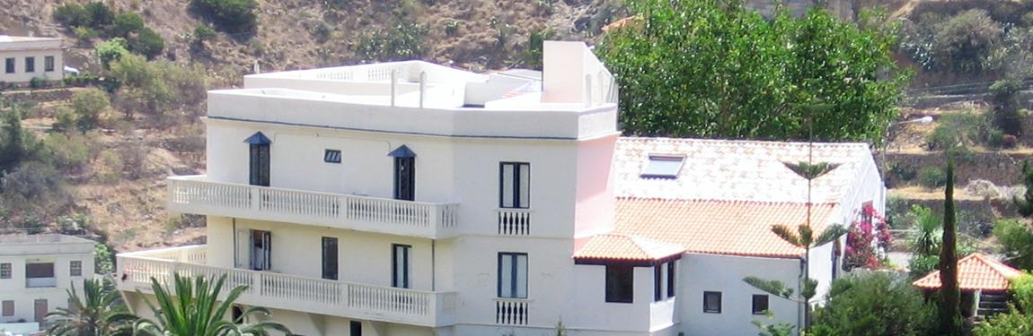 Hotel Añaterve, La Gomera, Canarische eilanden, vakantie, hotel