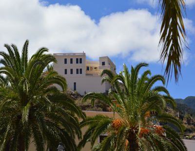 hotel, La Gomera, wandelen, rust,