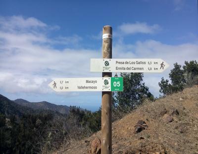 wandelen, La Gomera, wandelpad, wandelvakantie