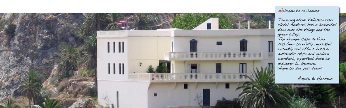 La Gomera, wandelvakantie, wandelen, rust, hotel